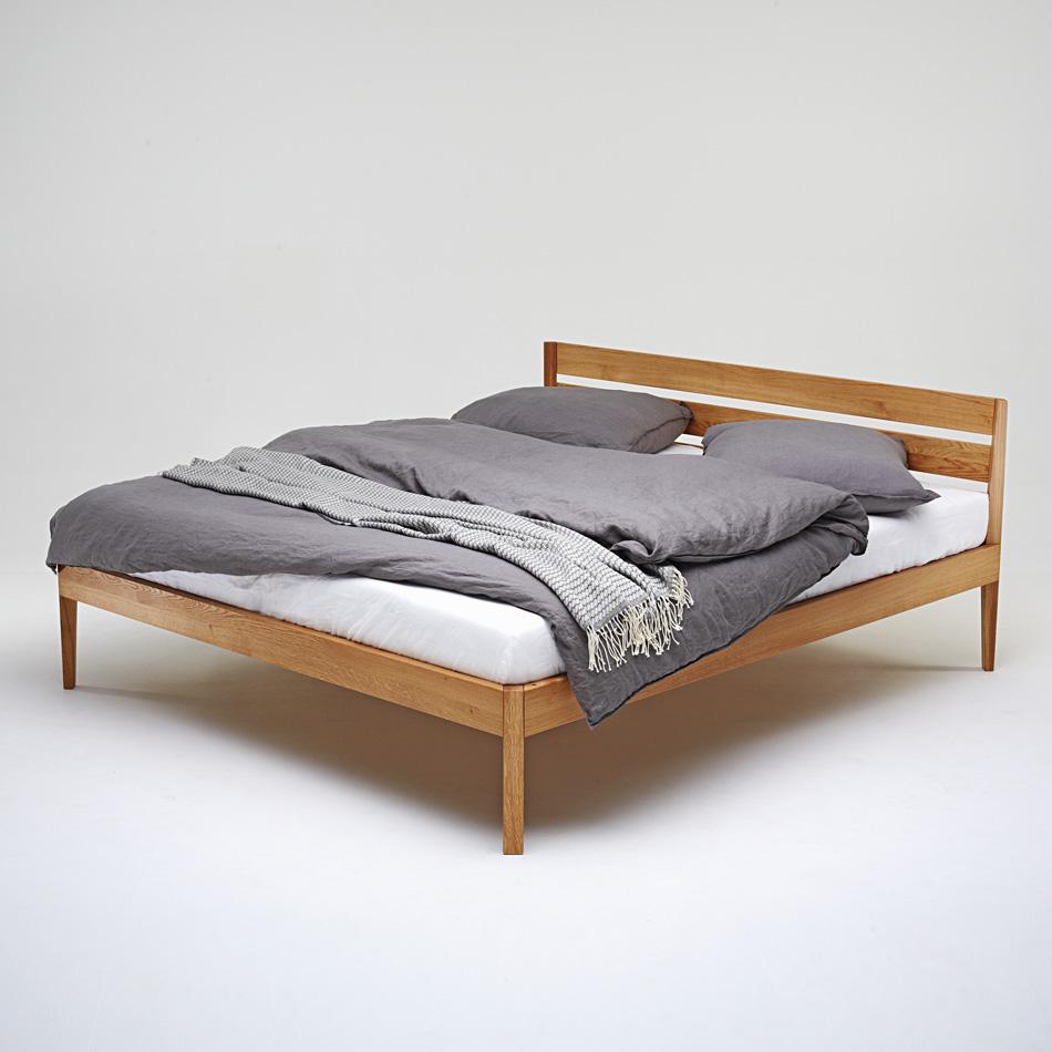 bett eiche cool x cm bett eiche massivholz inkl. Black Bedroom Furniture Sets. Home Design Ideas