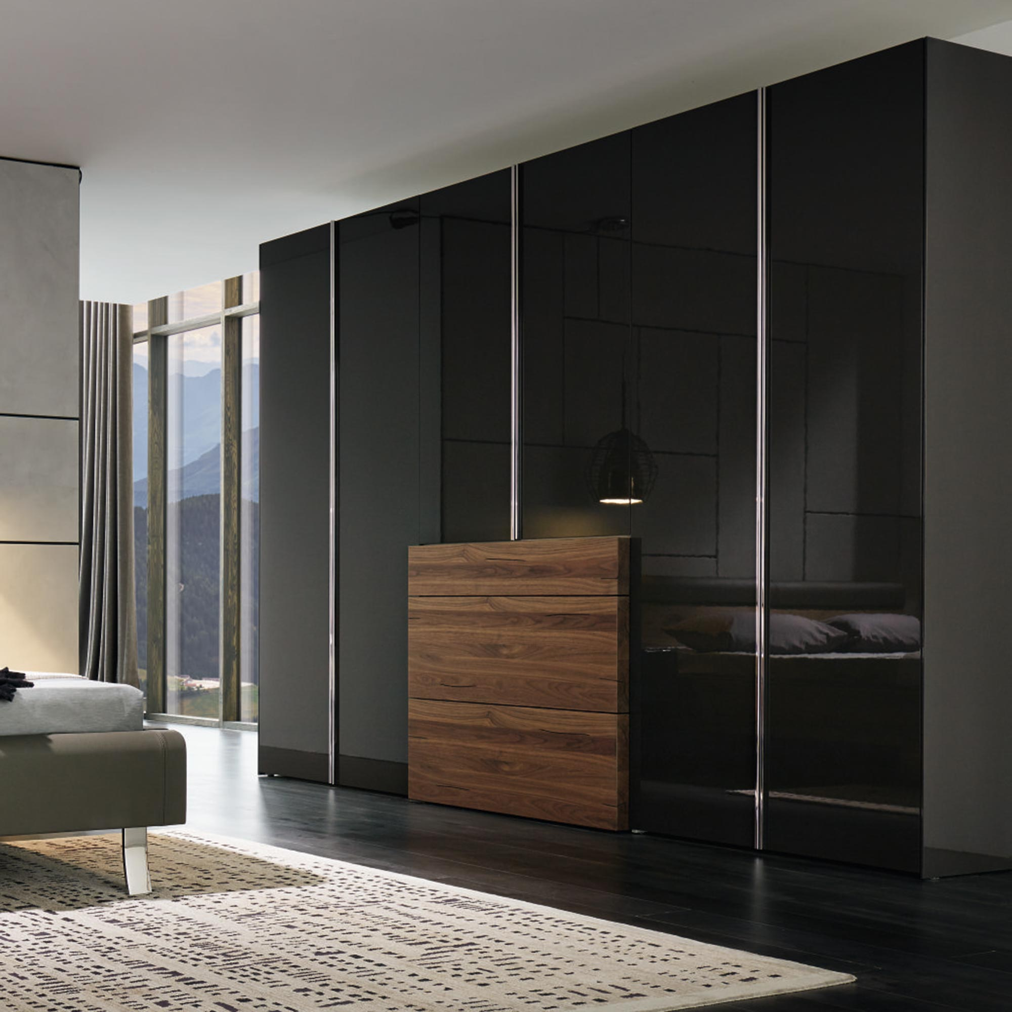 schlafzimmerschrank h lsta. Black Bedroom Furniture Sets. Home Design Ideas