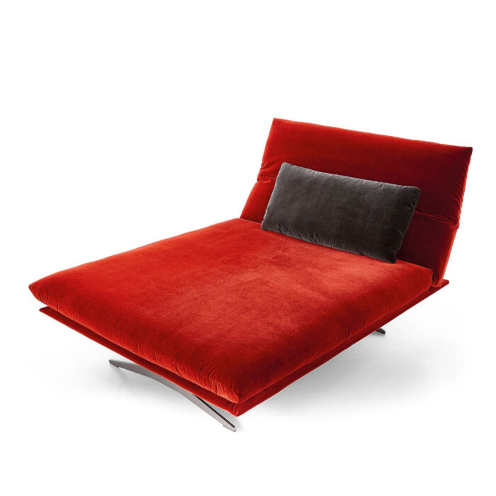 Koinor Sofa Francis in rot Fashion-Stoff