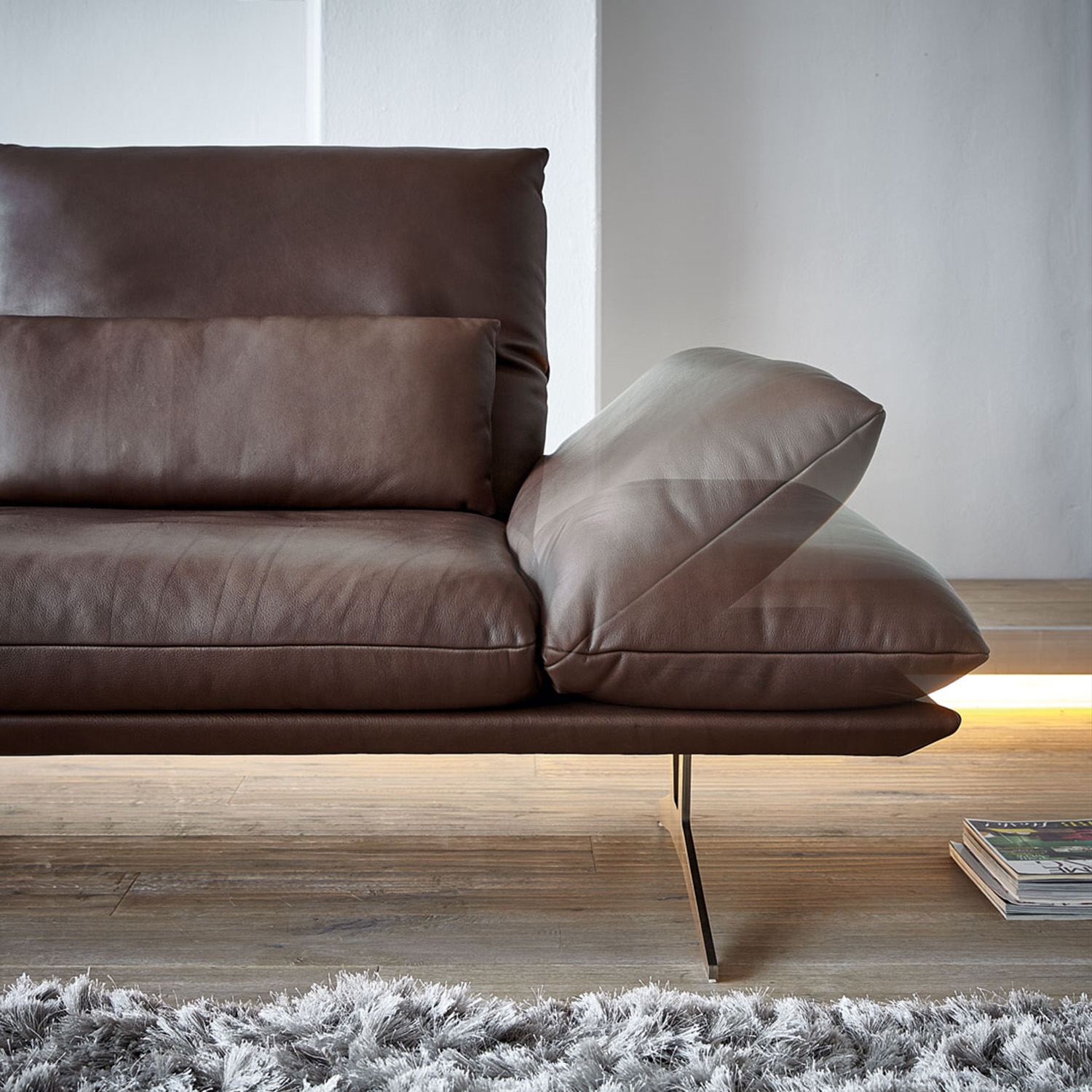 Wunderschön Couch Leder Braun Dekoration Von Interesting Elegant Koinor Sofa Francis In With