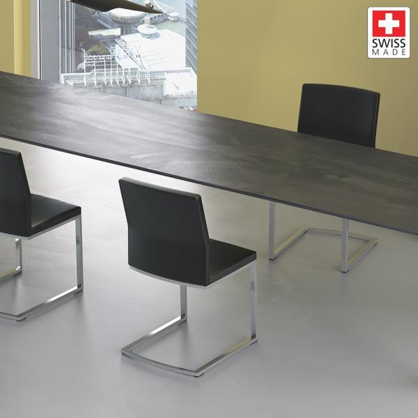 Willisau Silea Stuhl schwarz