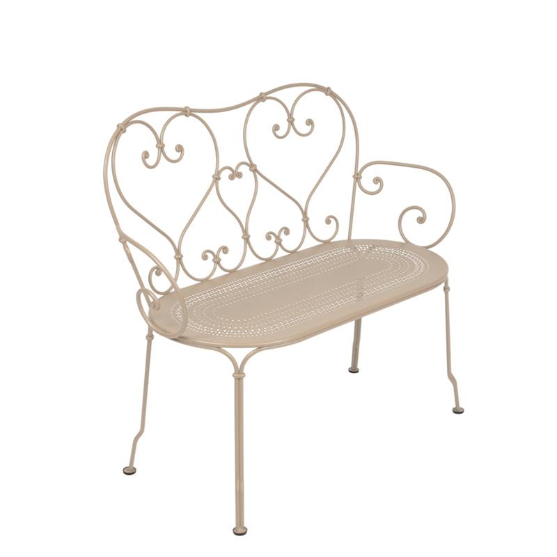 fermob 1900 bank m bel b r ag. Black Bedroom Furniture Sets. Home Design Ideas