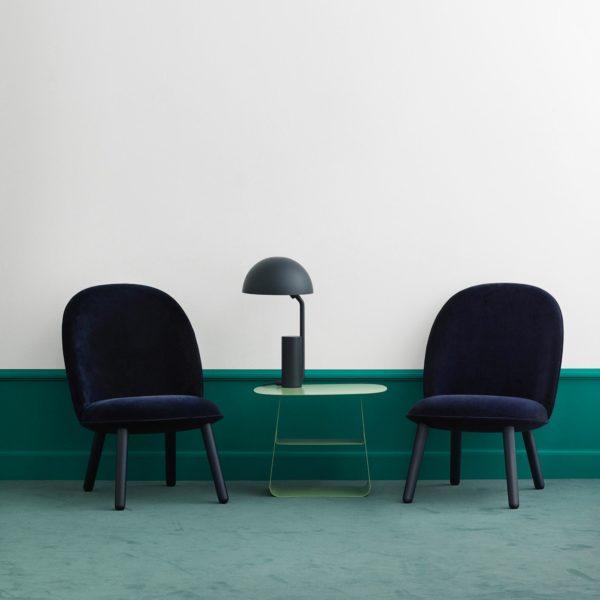 Normann Copenhagen Ace lounge chair blau