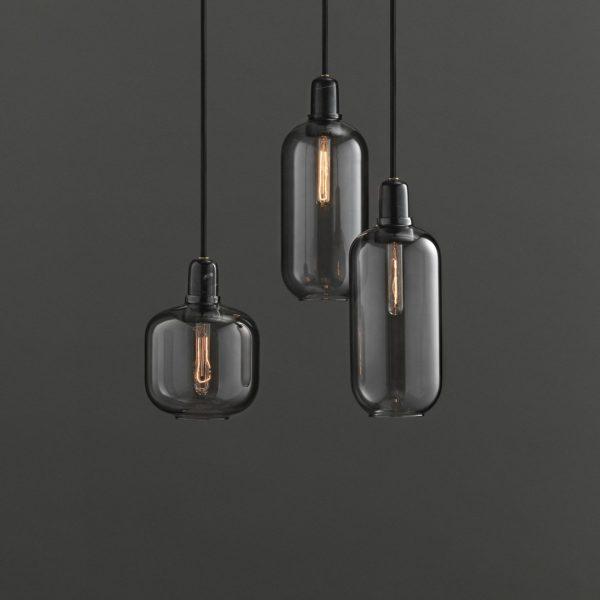 Normann Copenhagen Amp Lampe schwarz