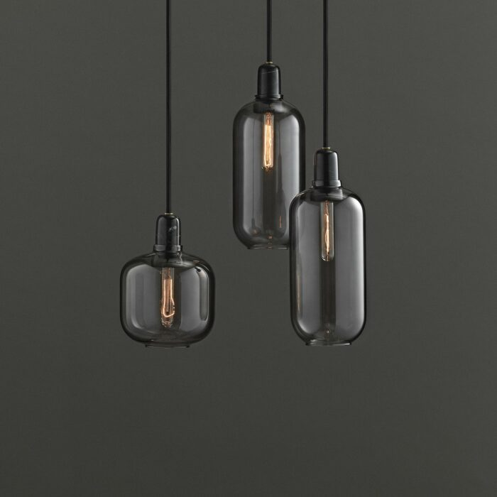 Normann Copenhagen Amp Lampe schwarz