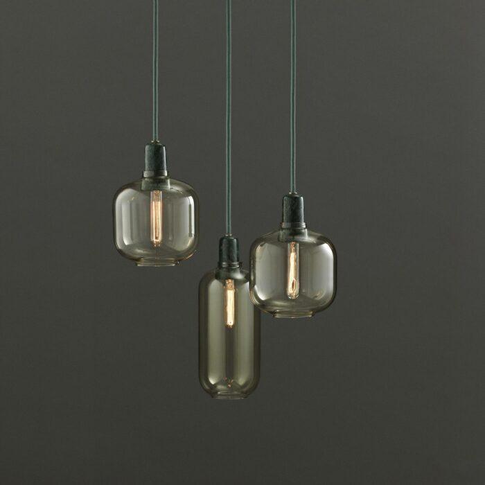 Normann Copenhagen Amp Lampe grün