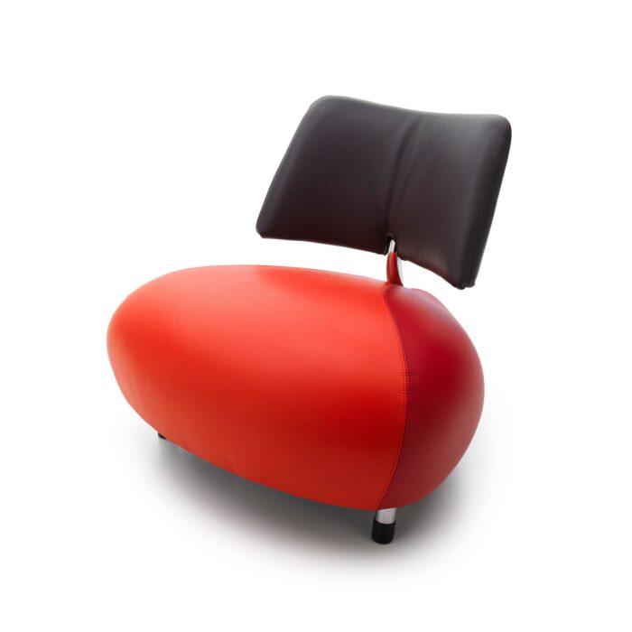 Leolux Pallone Sessel rot